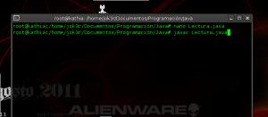 compilar desde terminal